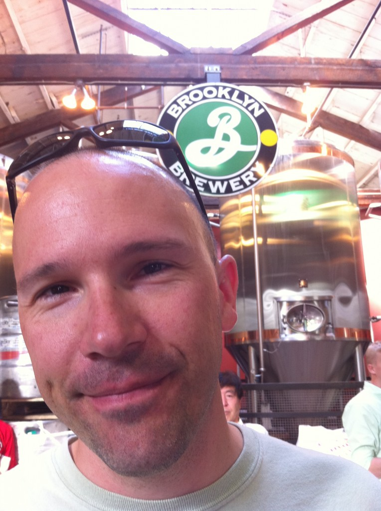 Peter @ Brooklyn Brewery